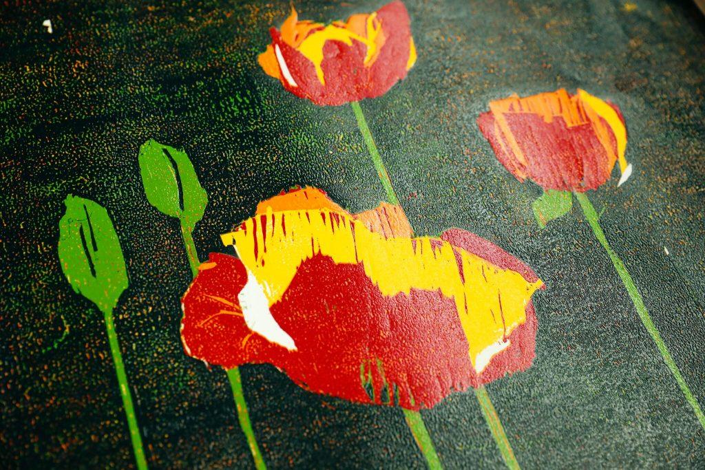Holz Und Linolschnitt Offene Kreativ Werkstatt