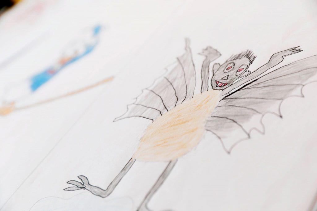 Kinder Zeichnen Halloween Graffiti Und 3d Offene Kreativ Werkstatt